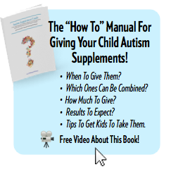 Autism Supplement Guide Book ad